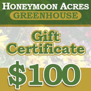 Honeymoon Acres Gift Certificate - $100